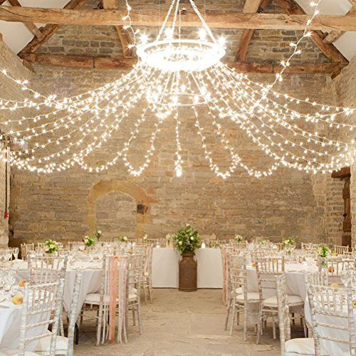 Accmart Wedding Curtain Lights Fairy Garden Bedroom Decoration 9.8 x 9.8ft 110V 300 LEDs for Backdrop String Lights Cool White AccMart http://www.amazon.com/dp/B012RKI3PO/ref=cm_sw_r_pi_dp_lgh4wb0JXBN30