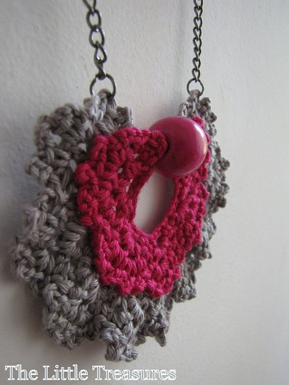 Vintage lace neckace by sewella on Etsy, $20.00