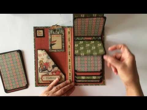 572 best images about mini album ideas on pinterest mini for Waterfall design in scrapbook