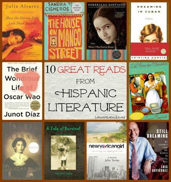 Latinas for Latino Literature: 10 Great Reads in Hispanic Literature