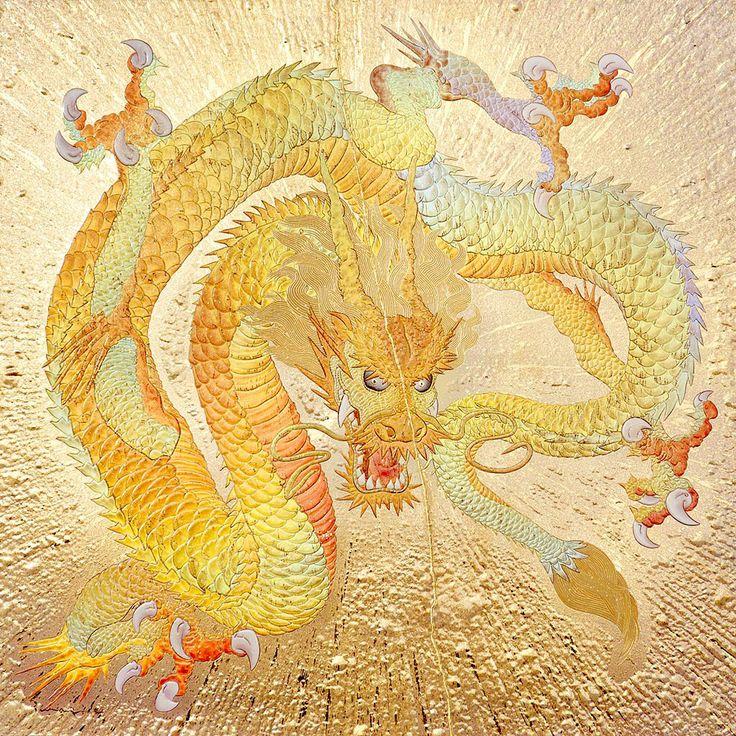 黄金の龍-koubou kazuhisa kusaba