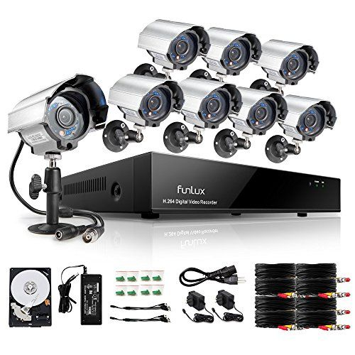 Funlux 8 Channel 960H DVR Security System with 8 700TVL Bullet Camera &1TB HDD  http://www.discountbazaaronline.com/2016/07/01/funlux-8-channel-960h-dvr-security-system-with-8-700tvl-bullet-camera-1tb-hdd/