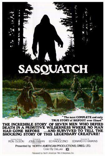 Sasquatch, the Legend of Bigfoot 27 x 40 Movie Poster
