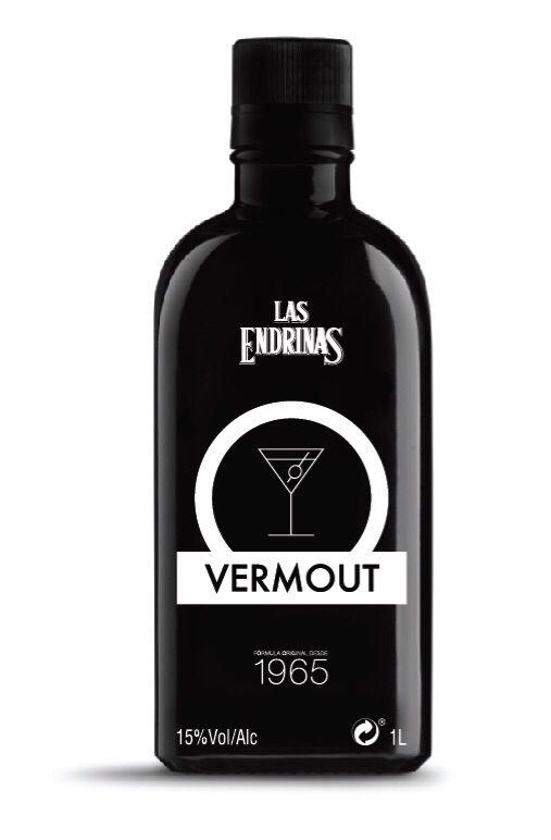 Las Endrinas saca al mercado su genuino Vermout #diseño #botella #negro #vermout #vermut #vermouth #lasendrinas #nuevo