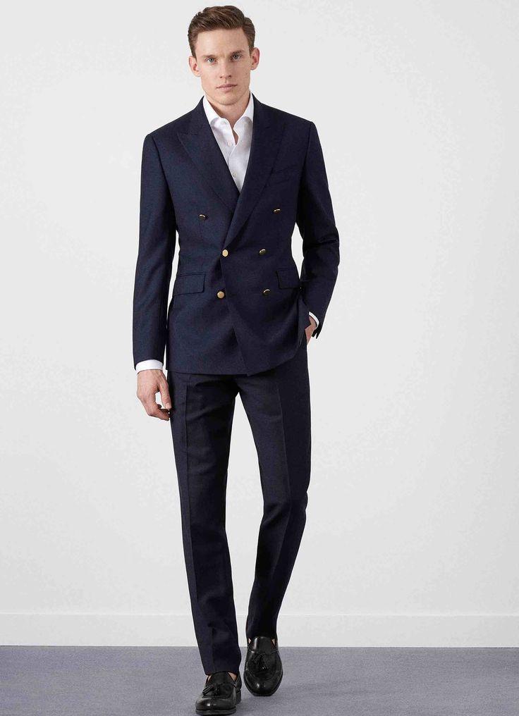25 best ideas about blazers bleu marine sur pinterest tenues de blazer bleu marine veste - Blazer homme bleu marine ...