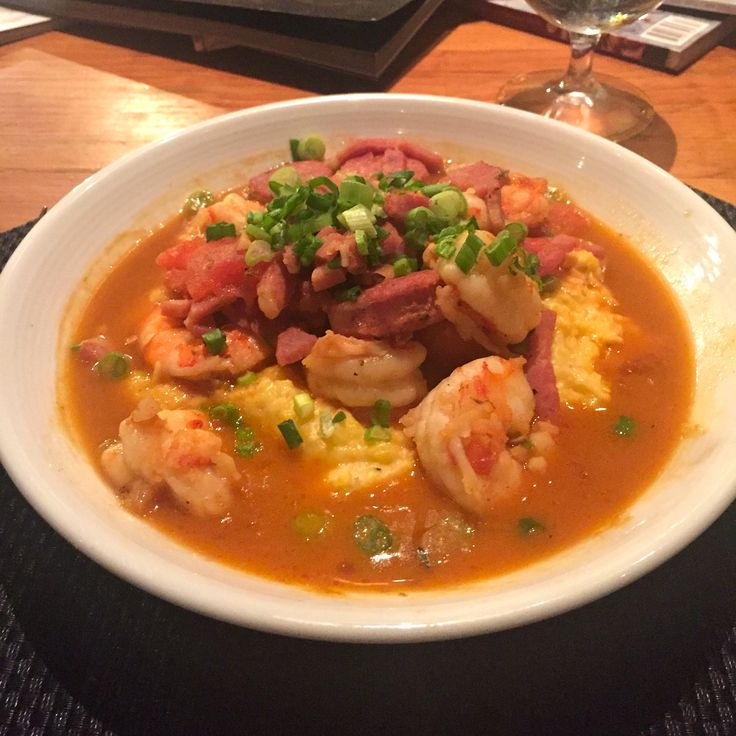 Slightly North of Broad shrimp grits charleston image