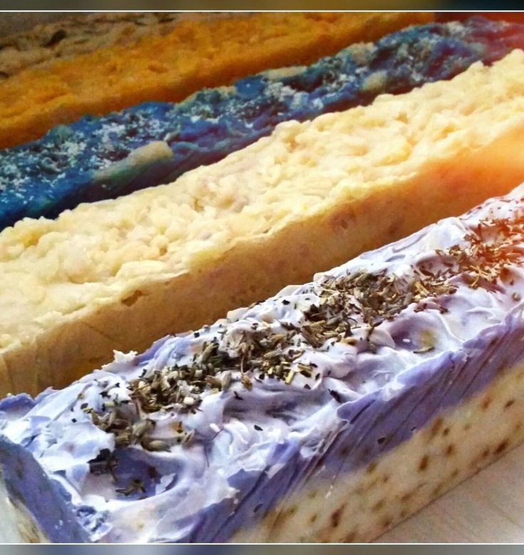 5 Handmade Soap Loaves - Slice, label, Sell 32cm Long x 6cm Wide -1.5KG Loaves #Handmade