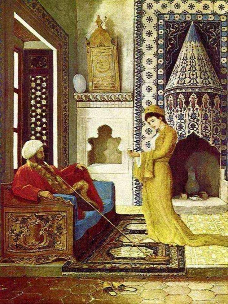Kahve Ocağı (1879) - Osman Hamdi Bey