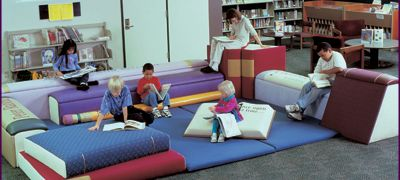 Giant Upholstered Book Furniture