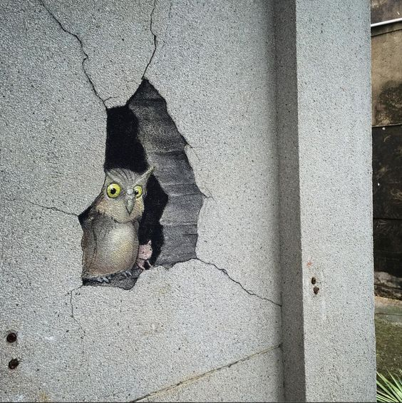 David Zinn in Chiayi, Taiwan, 2016                                                                                                                                                                                 More
