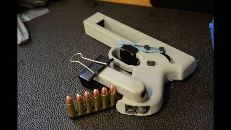 Songbird 3D Printed Pistol .357 Magnum Impressão 3D