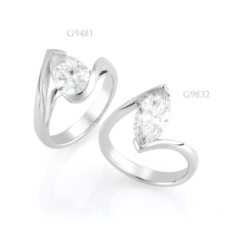 Diamond Jewellery - Pear Bordeaux | Marquise Bordeaux