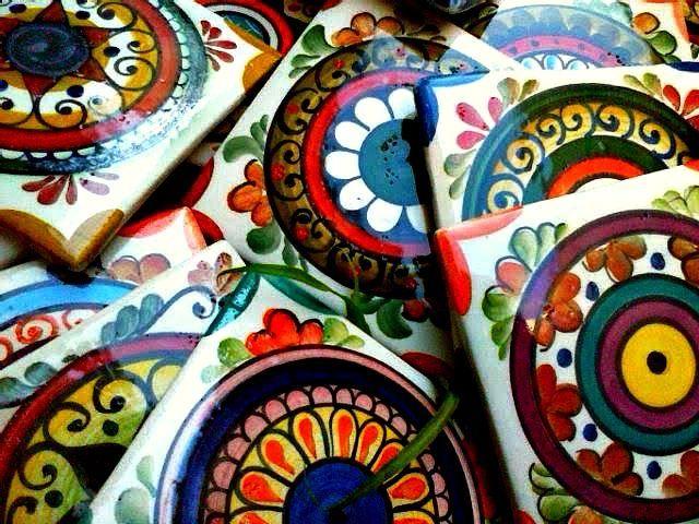 más de 25 ideas increíbles sobre baldosas pintadas en pinterest ... - Bachas Para Bano Pintadas A Mano