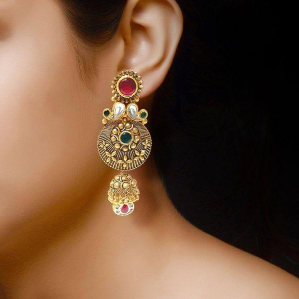 Earring Designs In Gold For Marriage For Brides With Inspiration Latest Earrings Design Earrings Designer Earrings