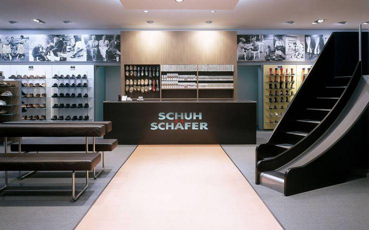 Client: Schuh Schäfer Location: Offenburg Design: Schuh Schäfer Year: 2004 #interior #shopfitting #retail #store #shop #design