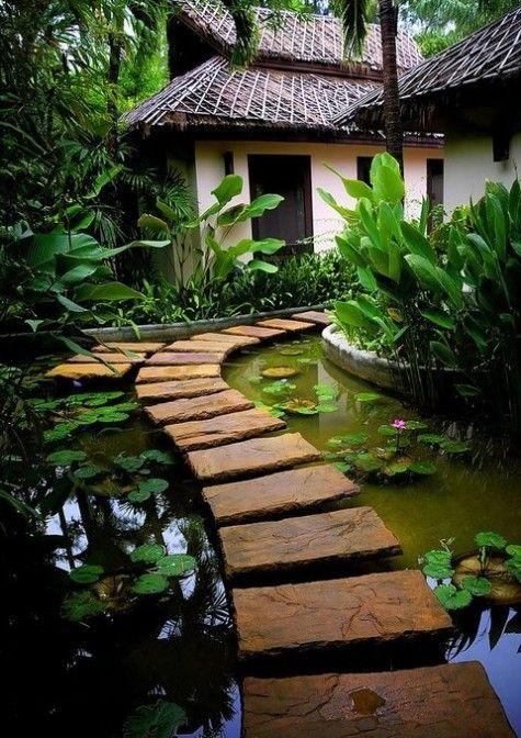 ComfyDwelling.com » Blog Archive » 61 Dreamy Backyard Pond Designs