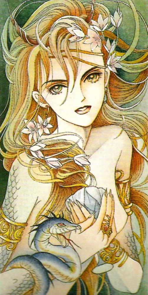 Art by manga artist Reiko Shimizu.