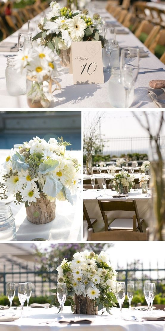 perfectly pretty florals in this vintage country chic wedding