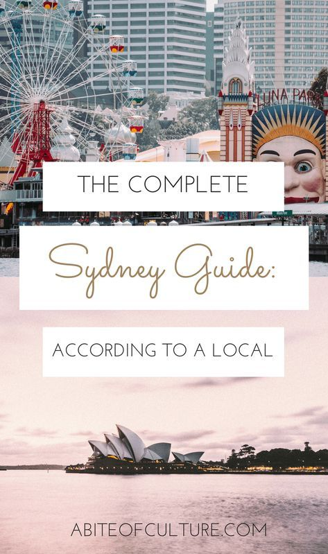 The Complete Sydney Guide: According to a Local - looking for a guide to Sydney, Australia with all the best things to do, see, eat, and more all from the perspective of a Sydney local! Here it is, a local's guide to Sydney, Australia that'll have you exploring this Australian city as if you live there!