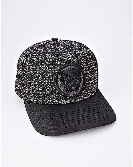 45adaf5935a4c Black Panther Snapback Hat - Marvel - Spencer s