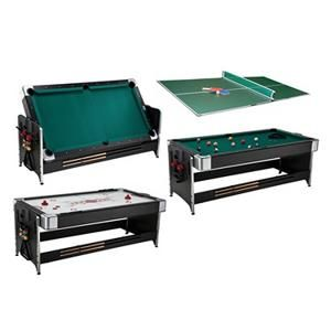 Shoot Pool With Friends, Easily Flip The Table Over For A Fast Paced Game  Of Air Hockey Or Add The Tri Fold Table Tennis Top ...