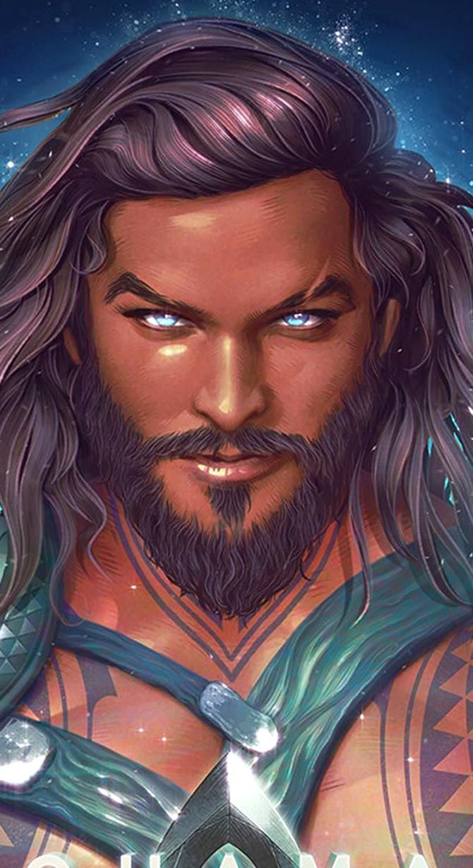 Aquaman Hd Wallpaper For Mobile Aquaman Is A Legendary Film Character And Is Very Fond Of Action Movie Lovers Wh Aquaman Artwork Superhero Comic Dc Comics Art