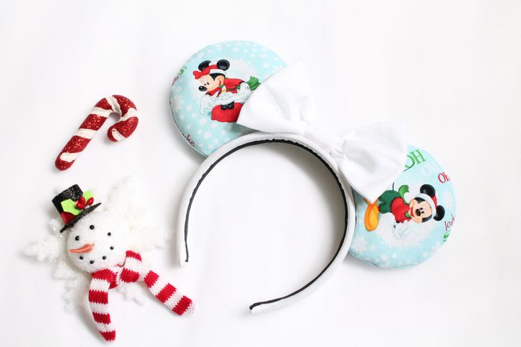 Mickey and Friends Mouse Ears, Mickey and Friends Minnie Mouse Ears, Mickey and Friends Minnie Ears, Mouse ears, Minnie Mouse ears by KittySoKrafty on Etsy