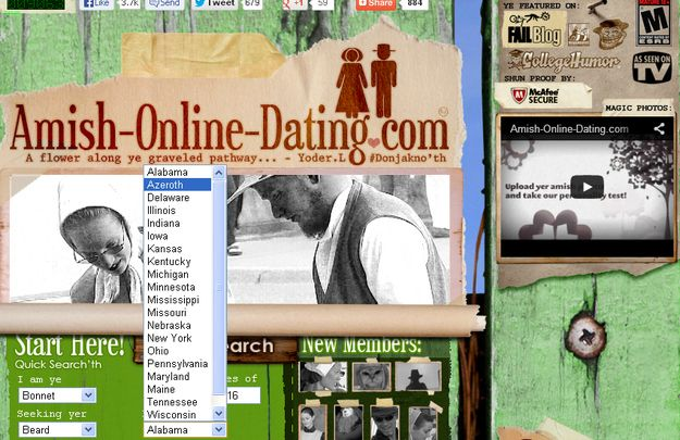 Amish online dating