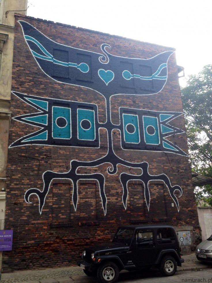 indiańskie coś - mural Wrocław