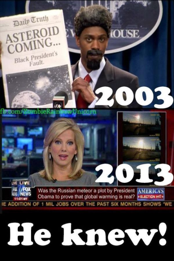 Dave Chappelle saw the future! no its a joke... but totally something we would see on Fox News.