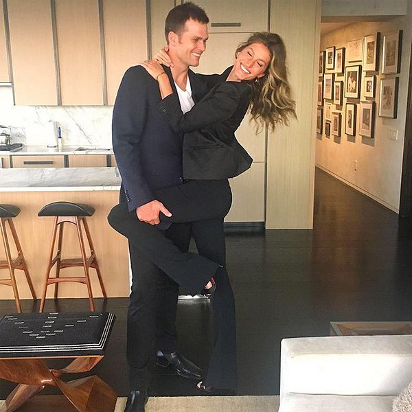 Gisele Bündchen Shares a Picture of Her Date Night with Tom Brady