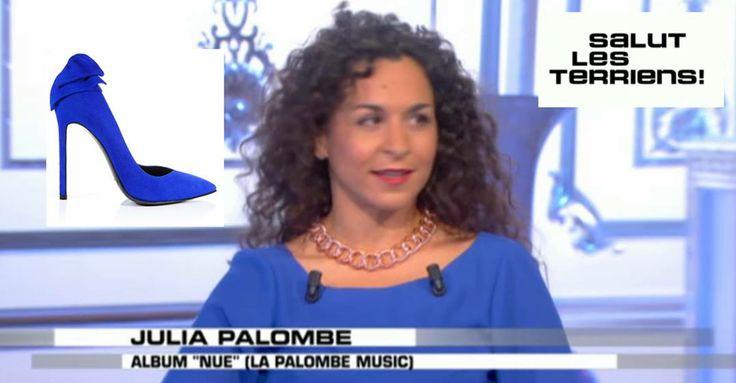 """Julia Palombe porte le modèle """"Narcisse"""" de Maison Ernest  dans """"Salut les terriens"""" sur Canal+ avec Thierry Ardisson  Le modèle """"Narcisse"""", en exclusivité à la boutique éphémère Maison ERNEST Cannes, 20 rue des Serbes, 06400 Cannes  Replay du samedi 14 juin : http://www.canalplus.fr/c-divertissement/pid3350-c-salut-les-terriens.html?vid=1087679 www.maisonernest.com"""
