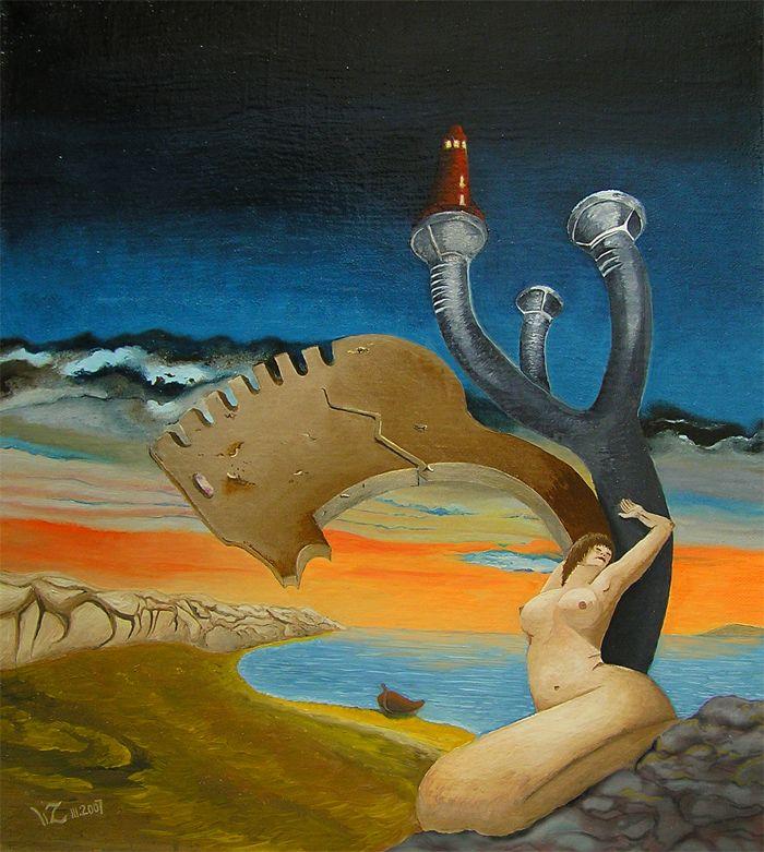 """Wojciech Zieliński Surrealizm """"Melancholia"""""""