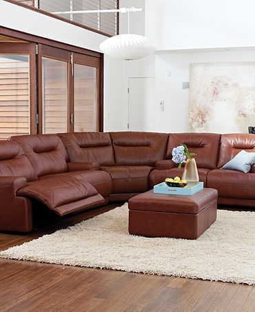 replaced our room and board sectional with this and never thought i could love as much but i do the power recline is fantastic and the leather is soft but