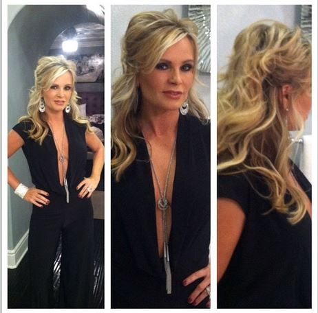 Tamra ( Barney ) Judge's Black Instagram Jumpsuit | Big Blonde Hair : Big Blonde Hair DETAILS: http://www.bigblondehair.com/?p=27520