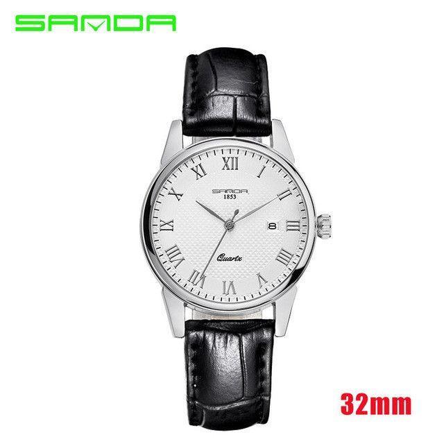 2016 Luxury Men's Watch Fashion Quartz-watch Waterproof Man Watches 2016 Brand Luxury Relojes Hombre Leather Relogios masculinos