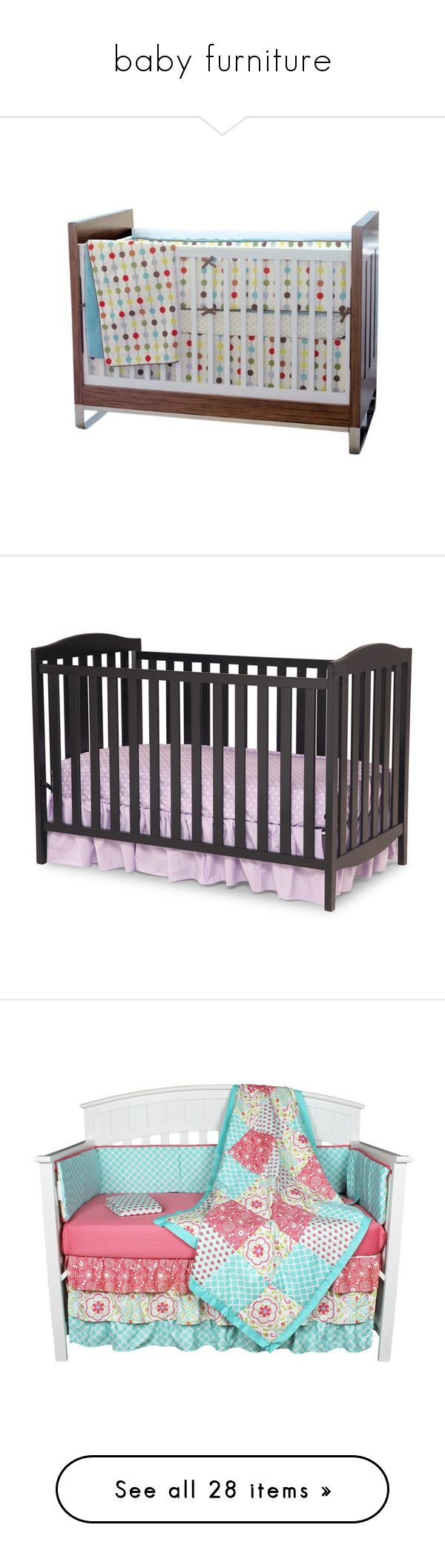 """""""baby furniture"""" by pokeasaurousrex ❤ liked on Polyvore featuring home, children's room, children's bedding, baby bedding, children's furniture, nursery furniture, baby, black, children's decor and baby stuff"""