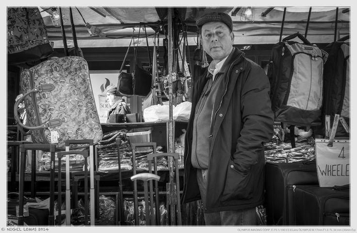 Bag Man by Nigel Lomas on 500px