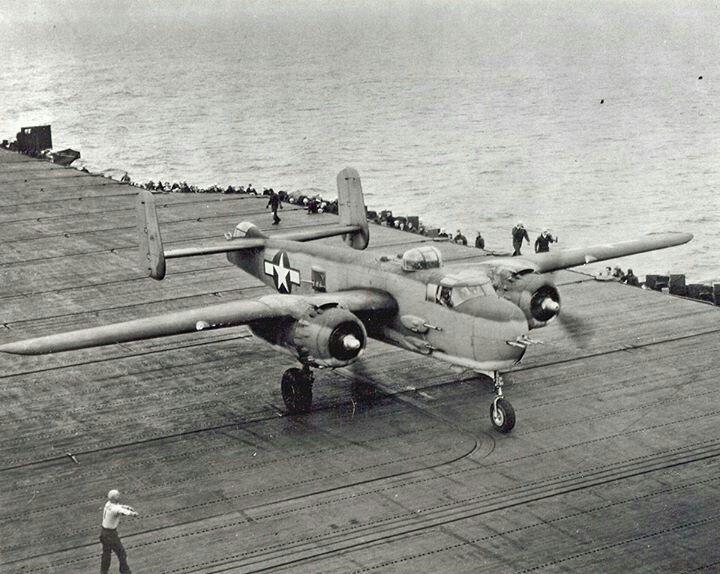 Doolittle's Raid over Japan, on the Hornet