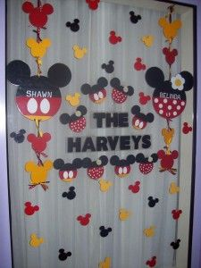Decorating your Disney Resort Window! www.twomomsandamouse.com and https://www.facebook.com/twomomsandamouse