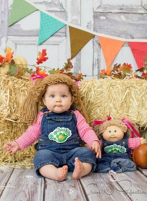Cabbage Patch Doll - 2015 Halloween Costume Contest via @costume_works