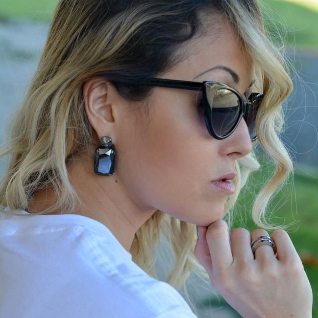 sefem design, earrings, fashion blogger, swarovski, culture and trend - Made in Italy