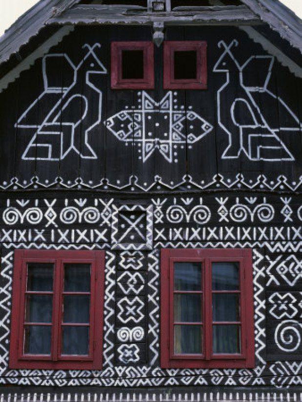 Pattern | Čičmany: Slovakia's painted village – Slavorum