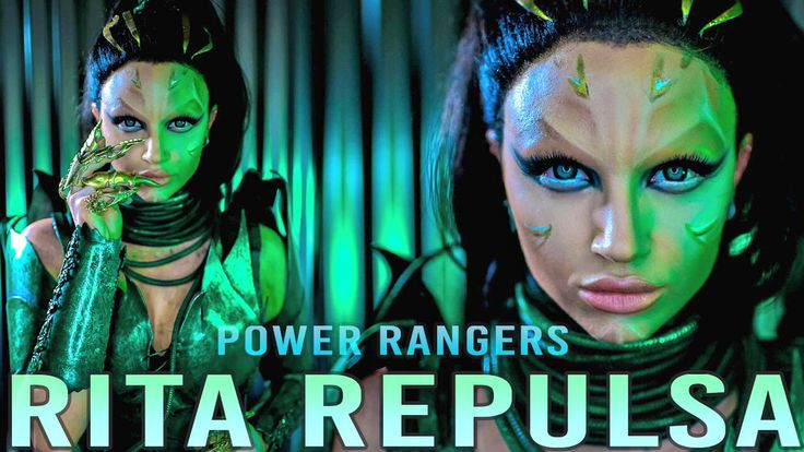 Mykie認証済みアカウント @Glam_And_Gore  3月16日その他 GO GO @ThePowerRangers! New Rita Repulsa makeup tutorial in collab with @Lionsgate is now live!! https://youtu.be/rrny5WgM1b0