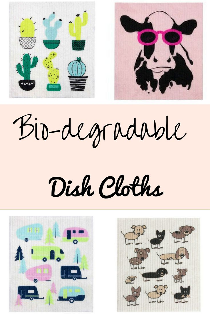 These biodegradable dish cloths are made from cotton and cellulose so they are really absorbent and add fun to the kitchen. Simply add water to your cloth and away you go.