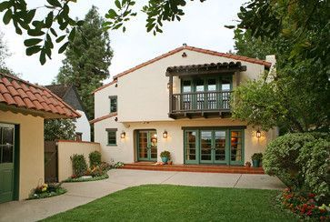 25 best ideas about mediterranean house exterior on for Spanish revival exterior paint colors
