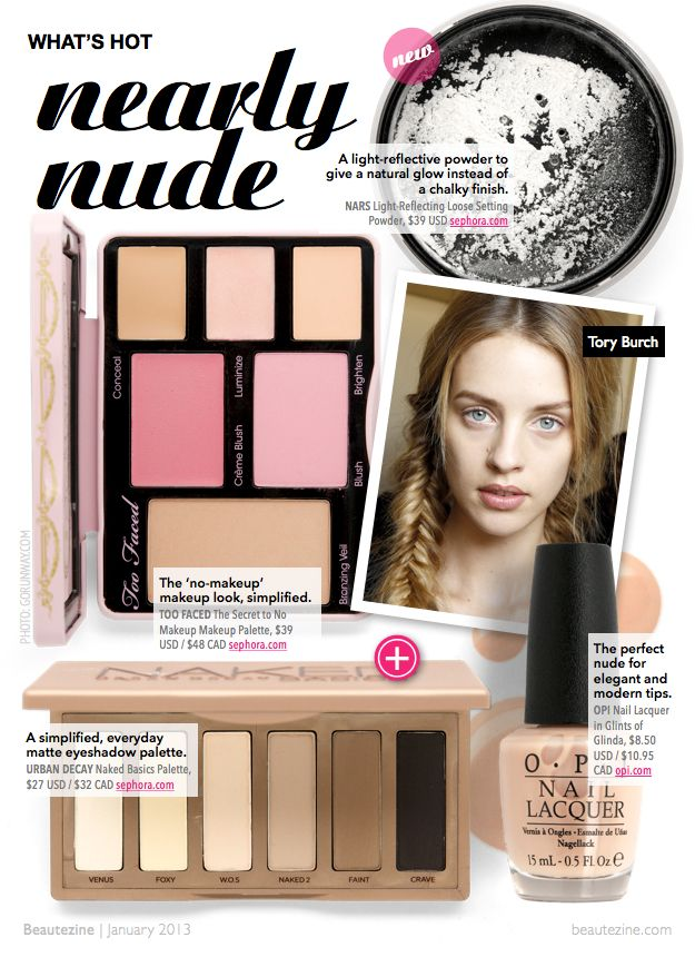 Nearly Nude Makeup Look from beautezine.com