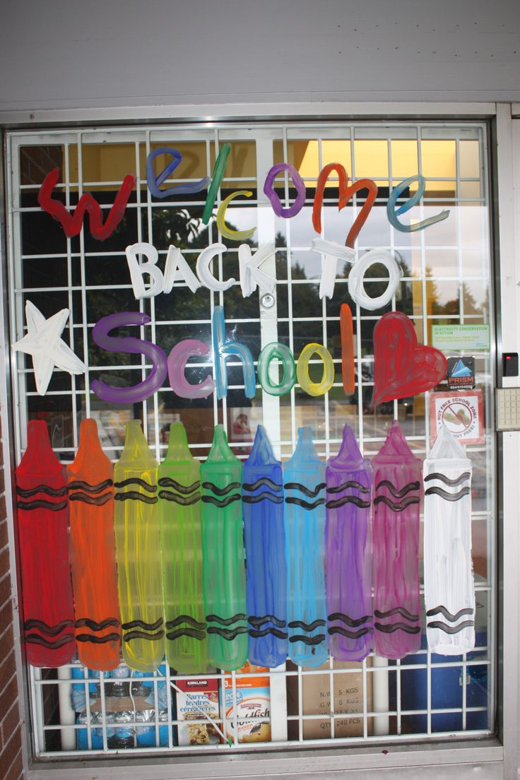 Classroom Windows Decoration Ideas ~ Best school window decorations ideas on pinterest