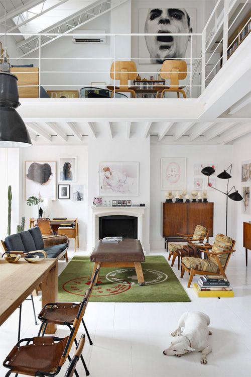 24 ides de mezzanines pour votre loft - Maison Moderne Avecmezzanine