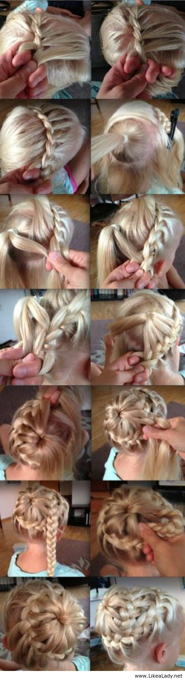 Wonderful Braided Hairstyles Step by Step Tutorial @Lisa Phillips-Barton Phillips-Barton Phillips-Barton Phillips-Barton Phillips-Barton Phillips-Barton Johnson- Knot & Veil
